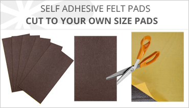 CUT TO SIZE SELF ADHESIVE FELT PADS